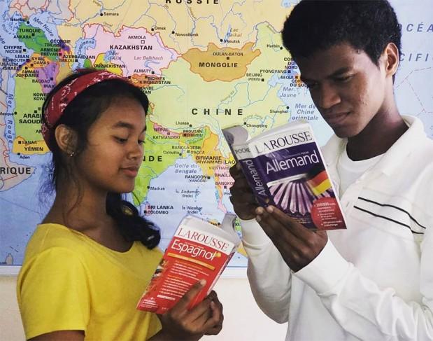 Concours #OuvertSurLeMonde. École La Clairefontaine, Fort-Dauphin, Madagascar