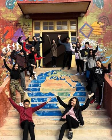 Concours #OuvertSurLeMonde. Lycée Victor-Hugo, Marrakech, Maroc