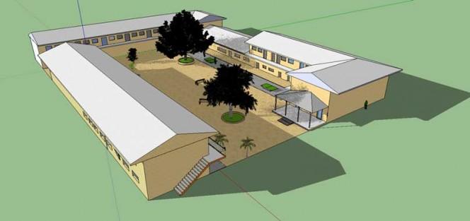 L'Ecole du Nord modélisée en 3D pour l'APP-Monde Architecture responsable en 3D
