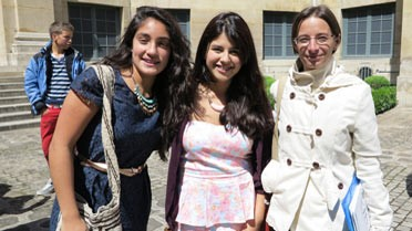 La délégation de Bogota