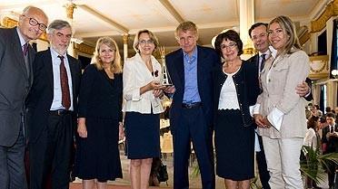 Des membres du jury du prix du Rayonnement français et de la ta