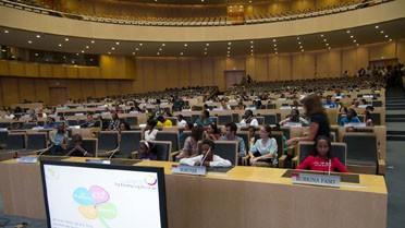 La salle de conférence de OUA