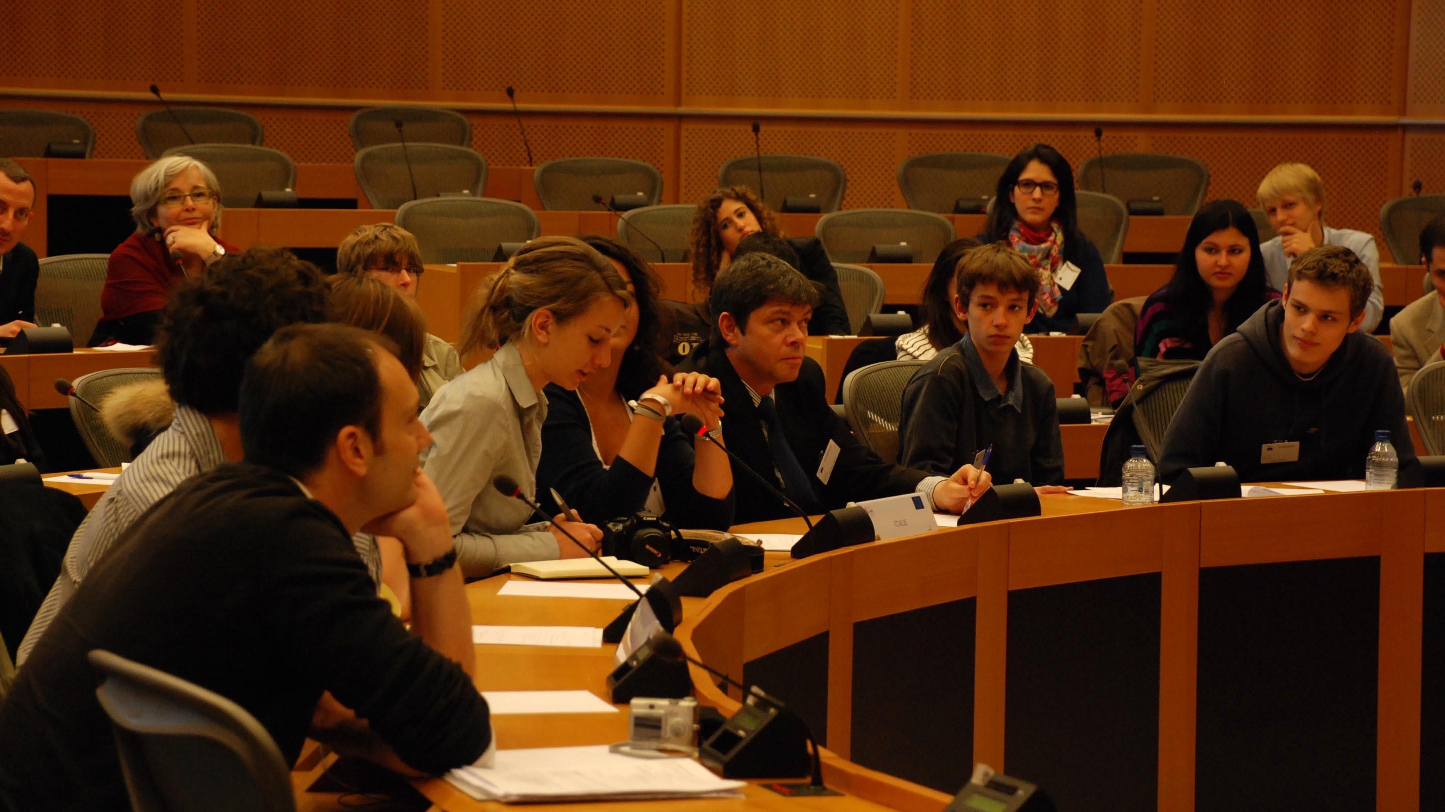 Rapporteurs d'ateliers de travail (2010)