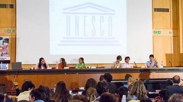 Salle XII de l'Unesco