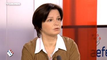 Brigitte Gimenez, proviseure en Haïti