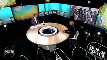 Le plateau de l'émission de TV5MONDE