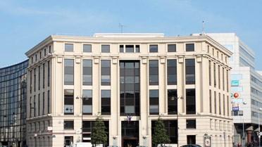 Immeuble du 23 de la place de Catalogne dans le 14e arrondissement.