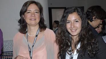 Laila Mamou, présidente du directoire de Wafasalaf,et Sophia Al