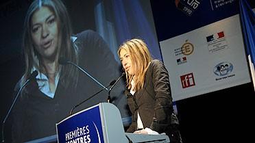 Marie-Christine Saragosse, directrice de TV5MONDE