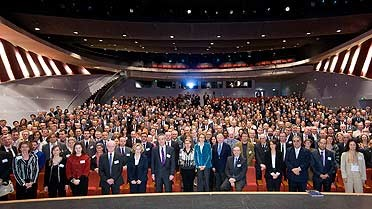 Les participants au Palais des Congrès de Paris
