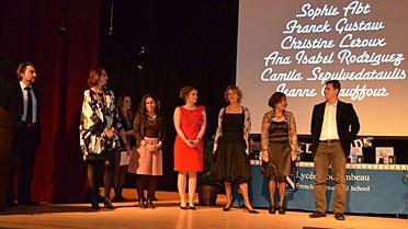 Les membres du jury qui ont lu les scenarii. © Rochambeau