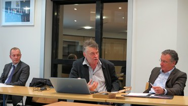 Olivier Boassson, Jean-Luc Nahel, Jean-Pierre Gesson.