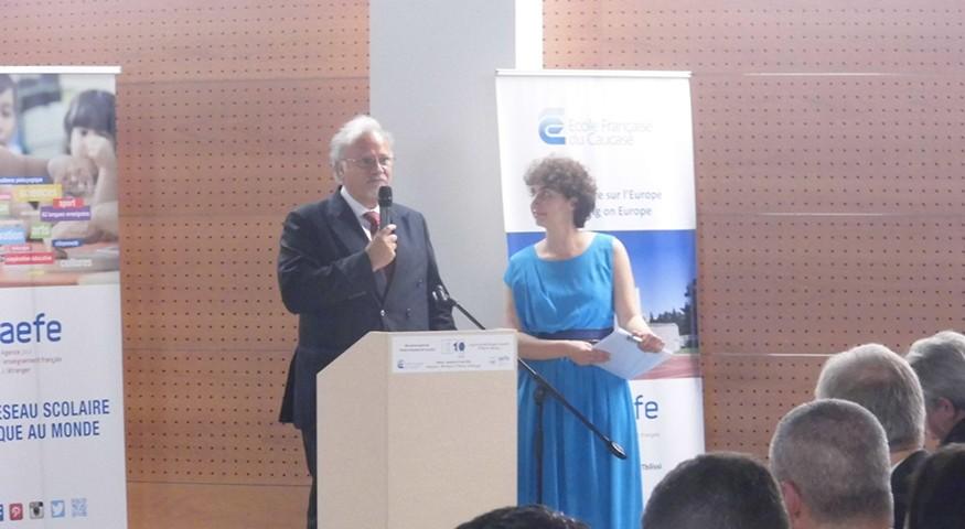 Discours de l'ambassadeur de France en Géorgie