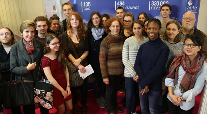 Les lauréats du réseau au Salon de l'éducation