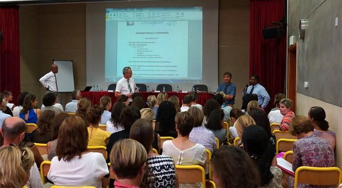 Prérentrée des enseignants à Doha