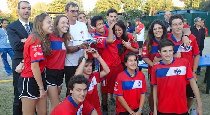 L'équipe du lycée Jean-Mermoz
