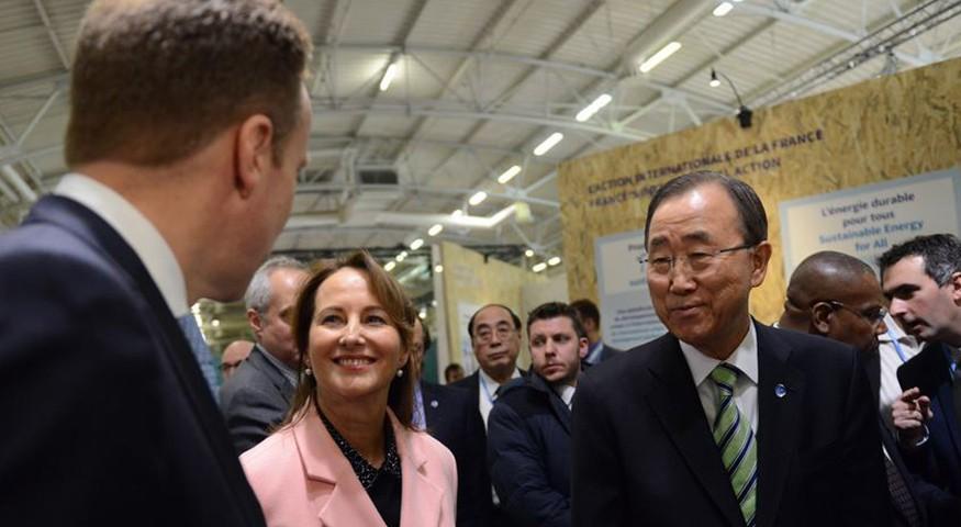 Ségolène Royal et Ban Ki-Moon