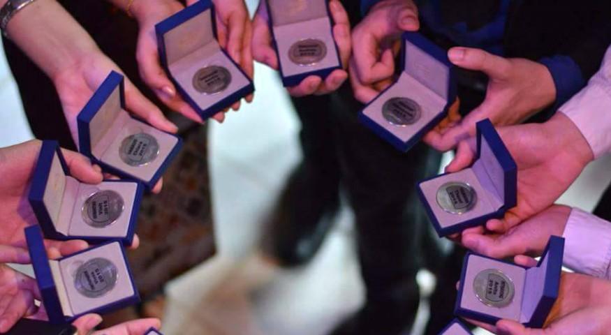 Médailles du bac à Vientiane
