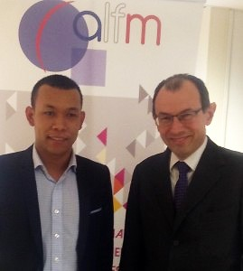 René Randrianja et Christophe Bouchard