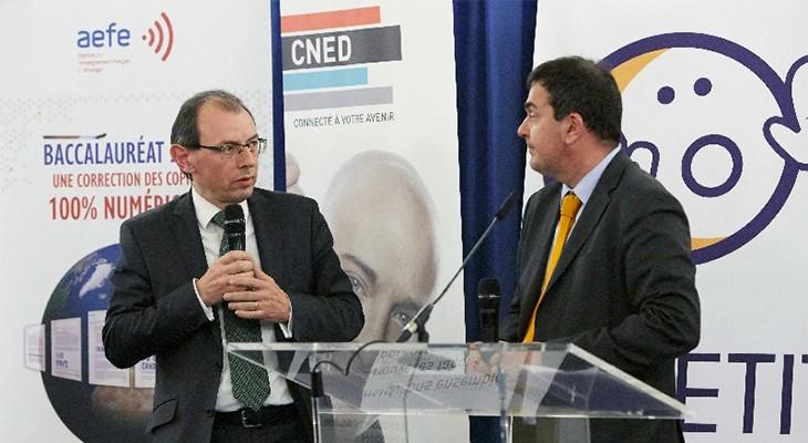 Christophe Bouchard et Hervé Heyraud