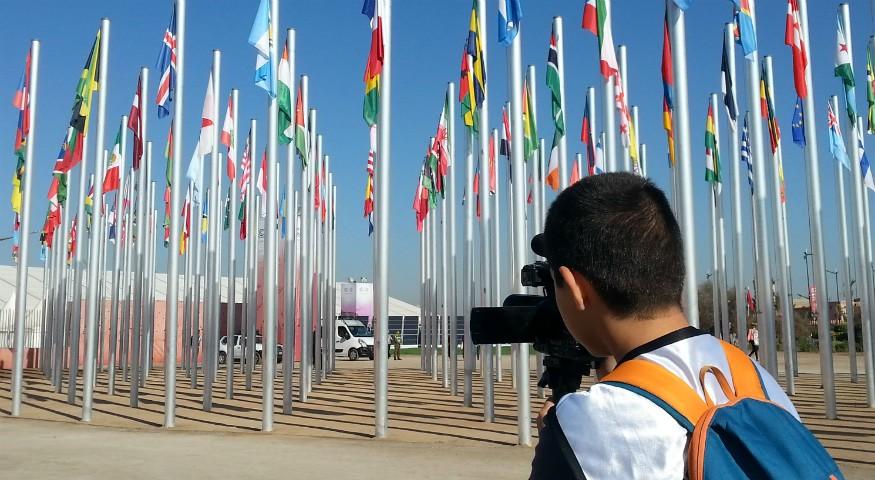 Un jeune reporter à la COP22