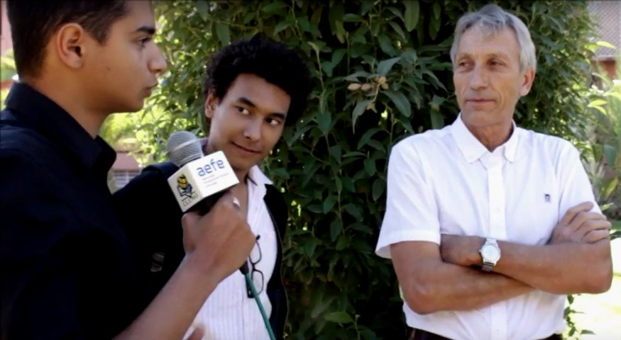 Interview de Thierry Lebel