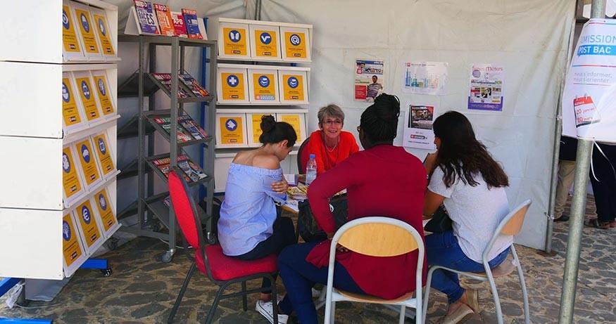 Moment d'échanges à Dakar