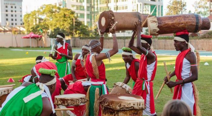 Spectacle de tambours