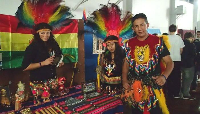 Stand de la Bolivie