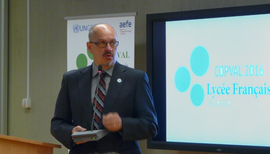 Mot d'accueil du directeur du centre de l'ONU
