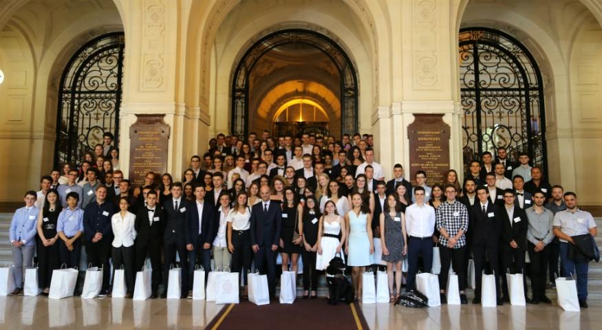 Photo de groupe du concours général 2017