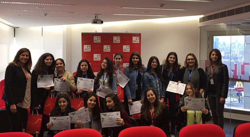À Beyrouth, des élèves du CPF en visite dans une entreprise