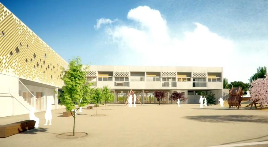 La future école maternelle de Madrid