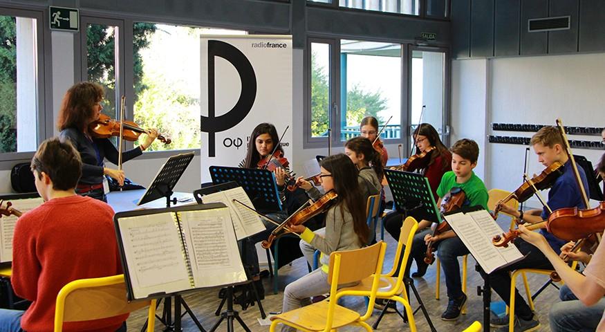 J2 : les violons en répétition