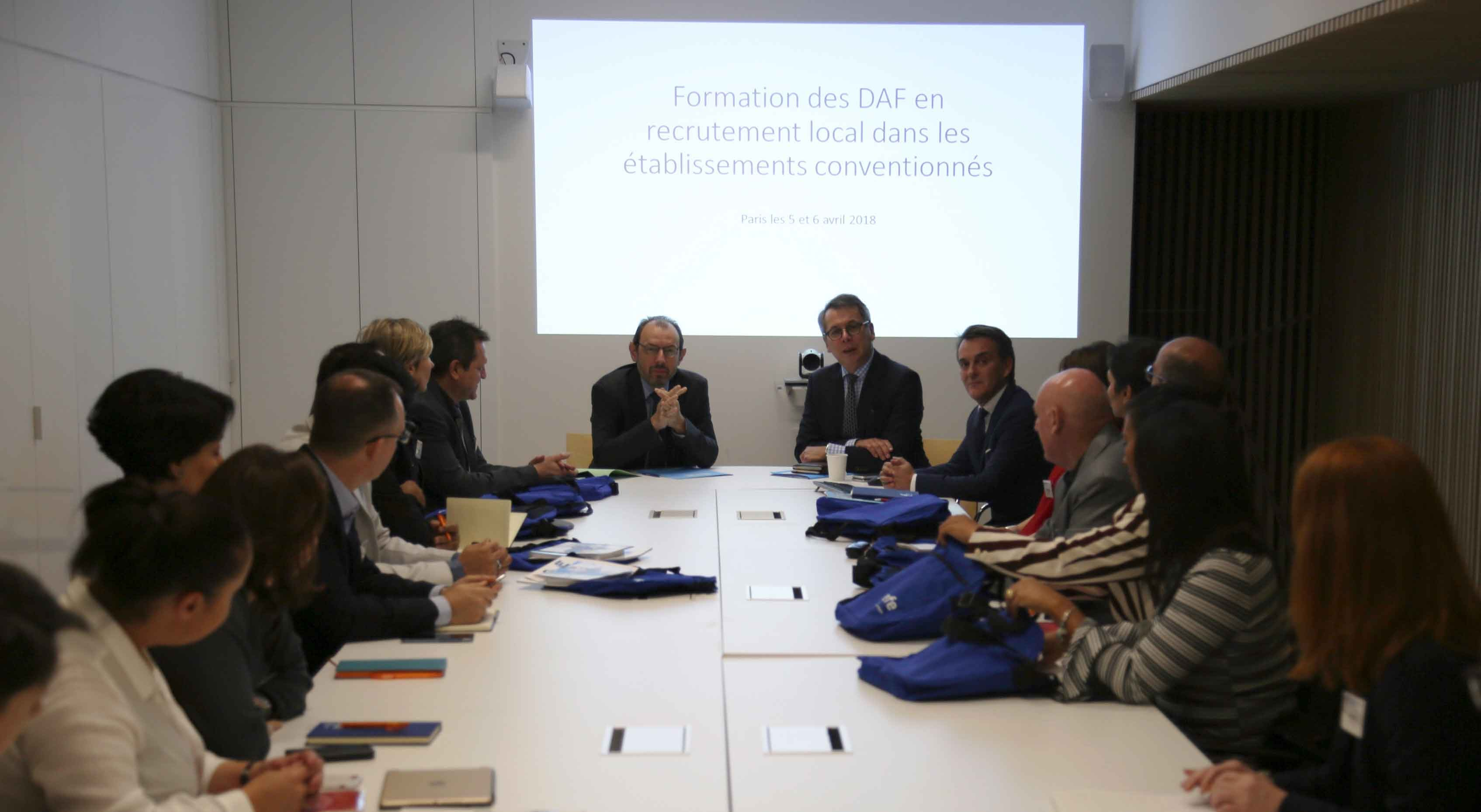 1er séminaire des DAF en contrat local