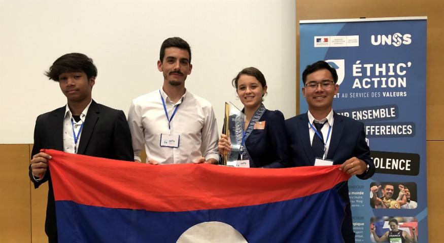 La délégation de Vientiane
