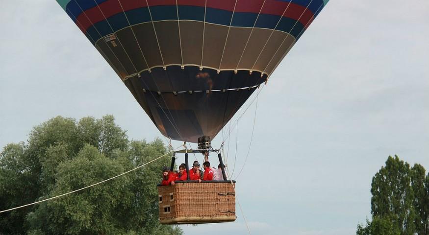 Visite en montgolfière