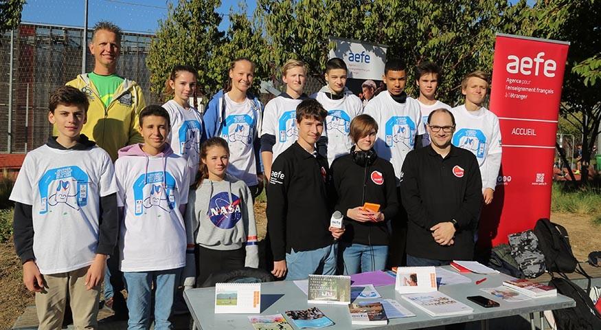 La délégation du Lycée français de Luxembourg