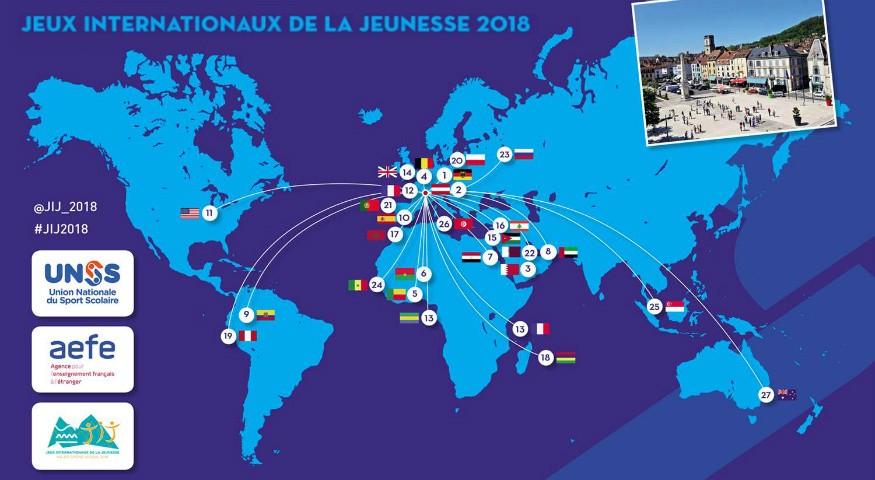 Carte des délégations