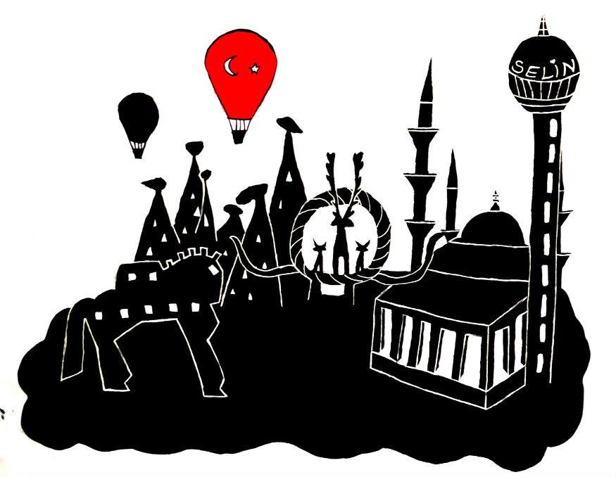La Turquie monochrome