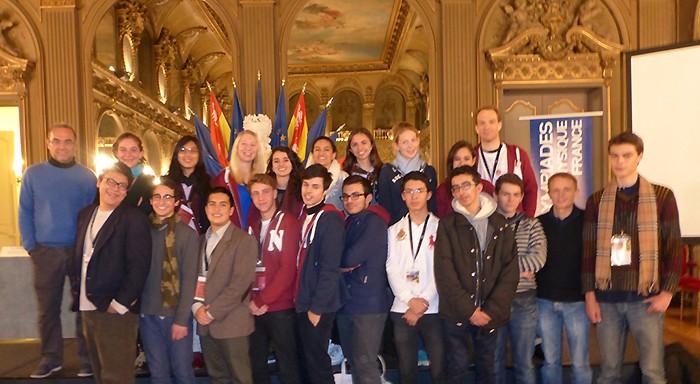 Photo de groupe des lauréats du réseau