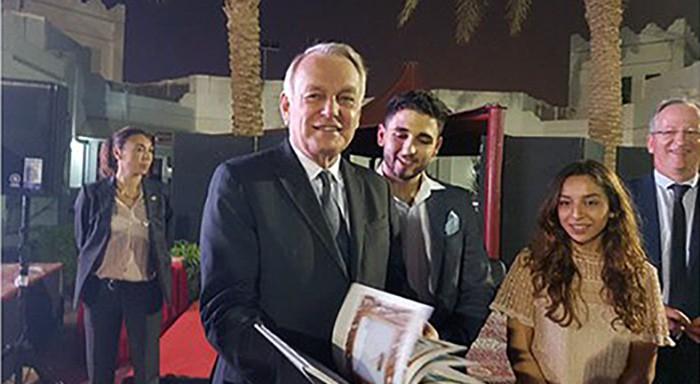 Compilation d'œuvres artistiques à Doha
