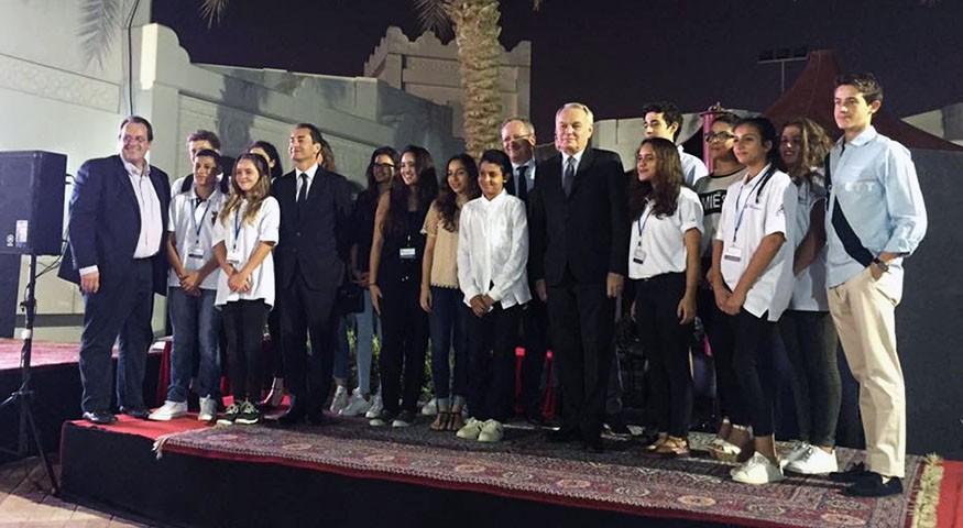Photo de groupe à Doha
