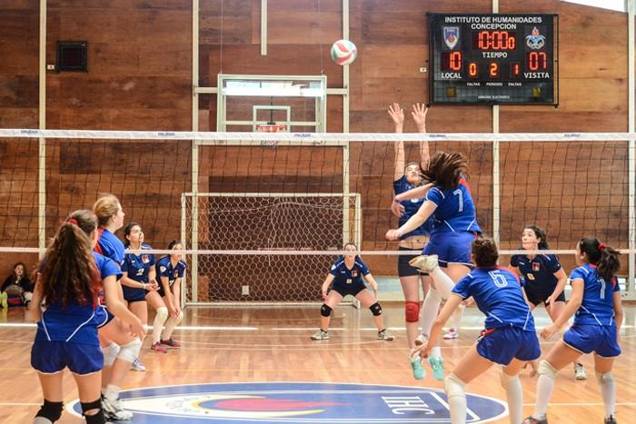 Match de volley féminin