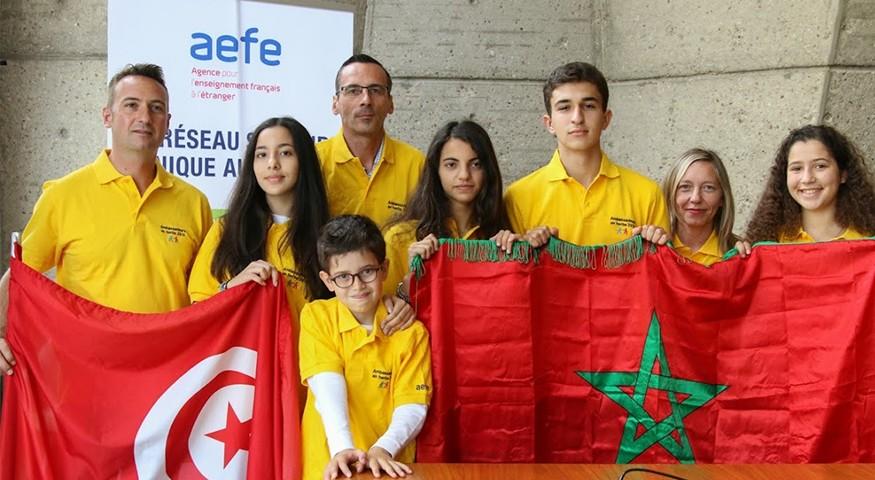 L'équipe Maghreb-Machrek