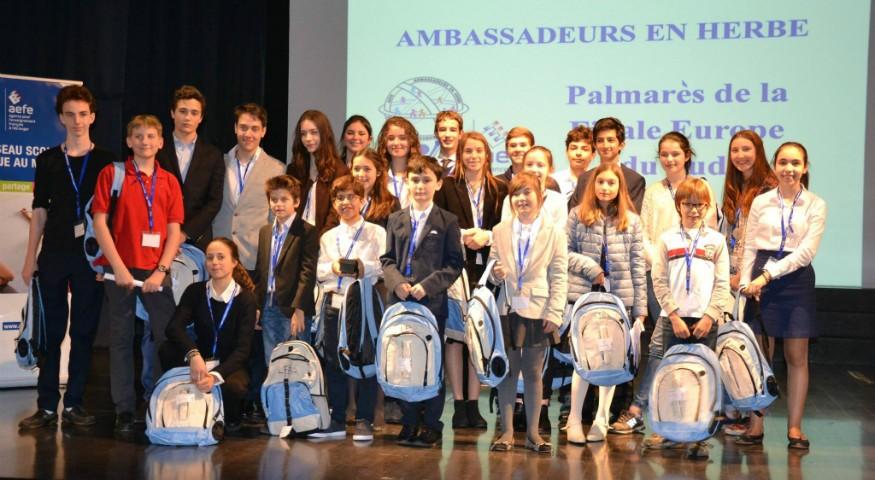Les finalistes de l'Europe du Sud