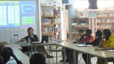 Atelier d'orientation au lycée de Nouakchott