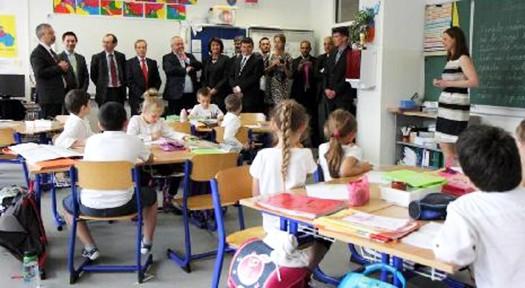 Visite d'une classe à Bratislava