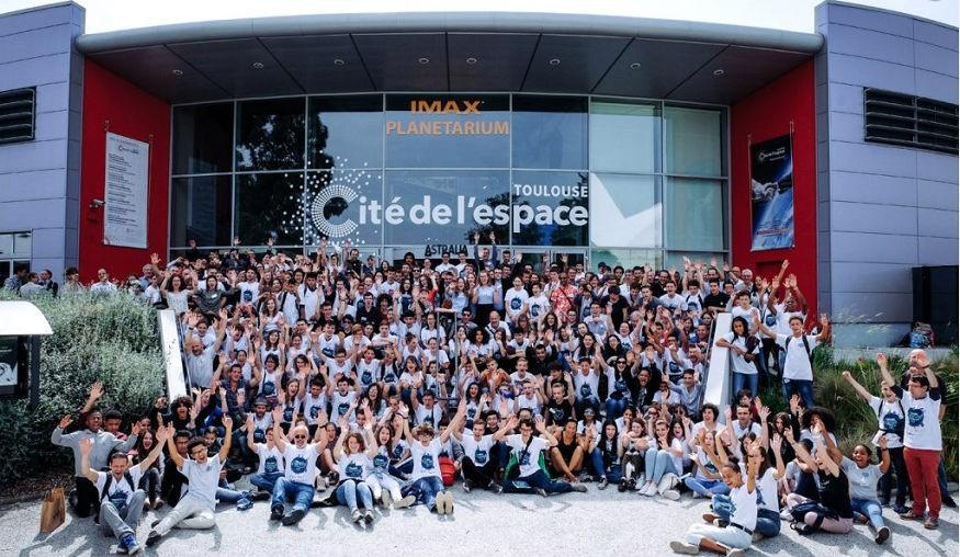 Les participants de la finale nationale à Toulouse