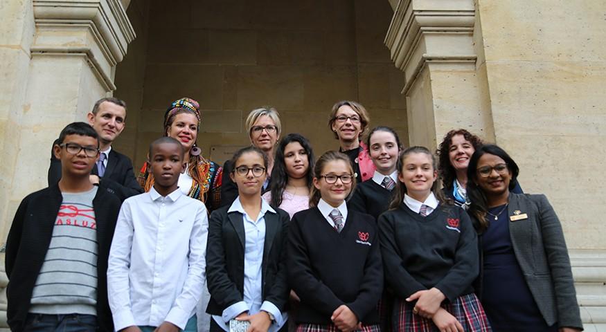 Les délégations du Sénégal et d'Australie